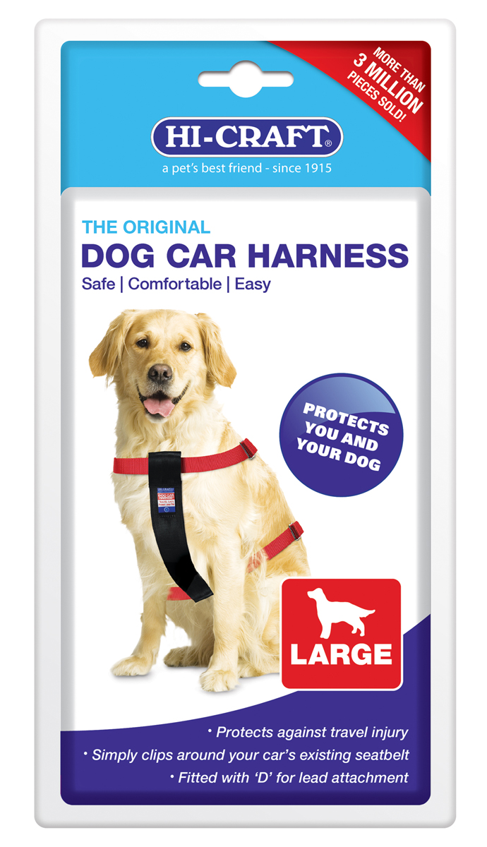 Hi-Craft Original Dog Car Harness