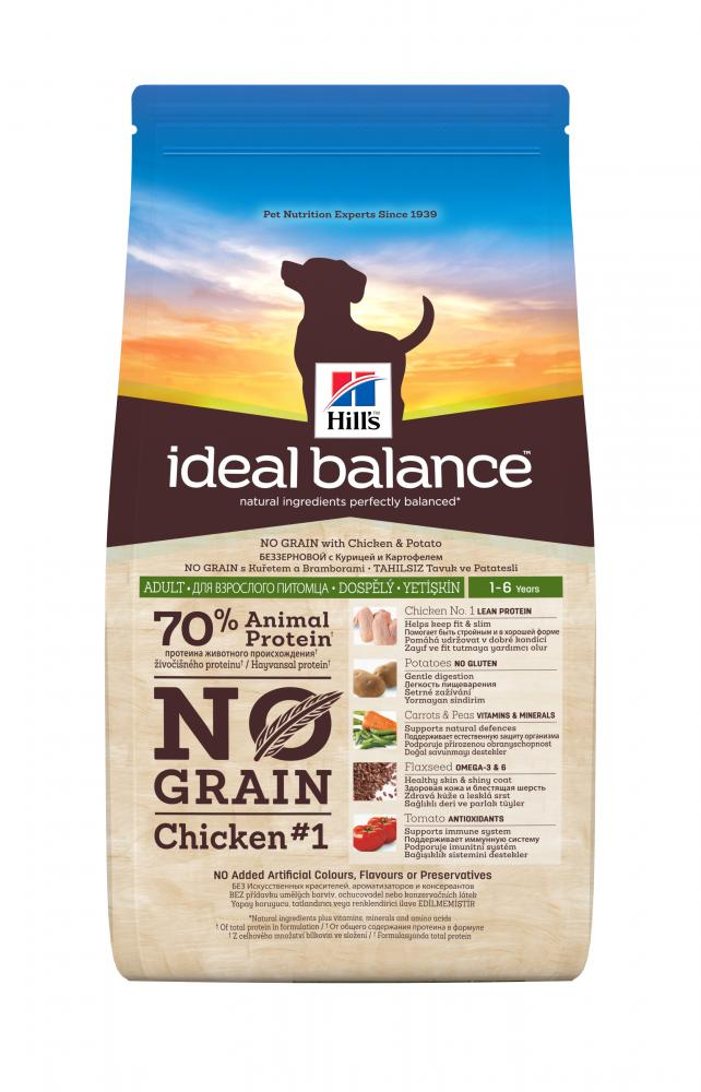 Hill's Ideal Balance Adult No Grain Chicken & Potato Dog Food