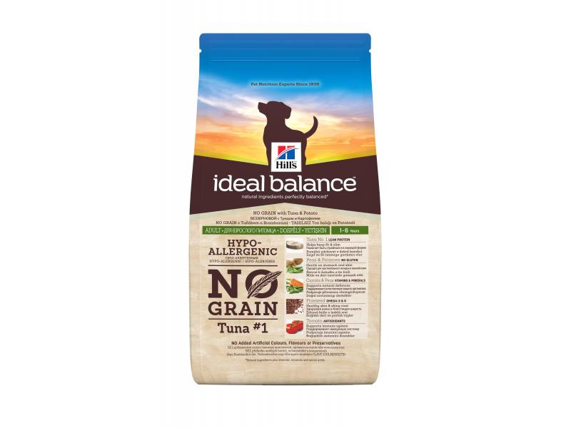 Hill's Ideal Balance Adult No Grain Tuna & Potato Dog Food