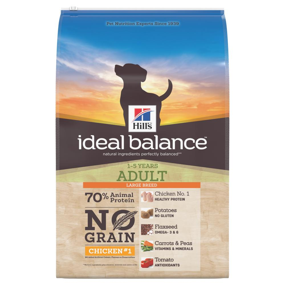 Hill's Ideal Balance Large Breed Adult No Grain Chicken & Potato Dog Food