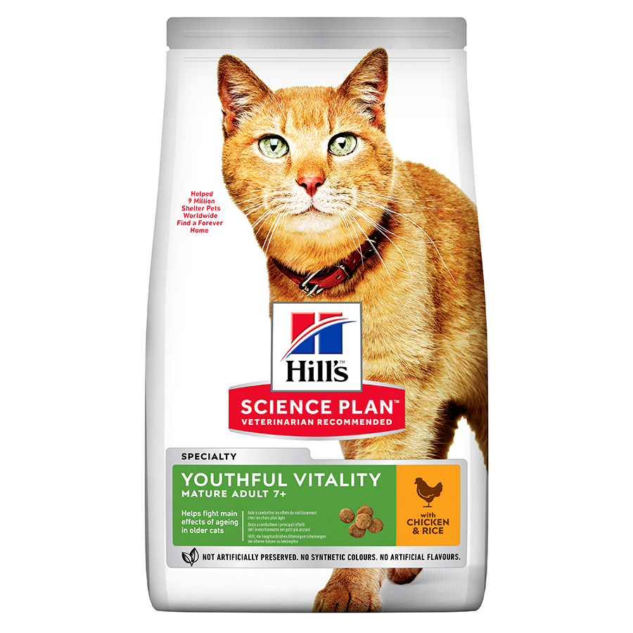 Hill's Science Plan™ Adult 7+ Youthful Vitality Cat Food