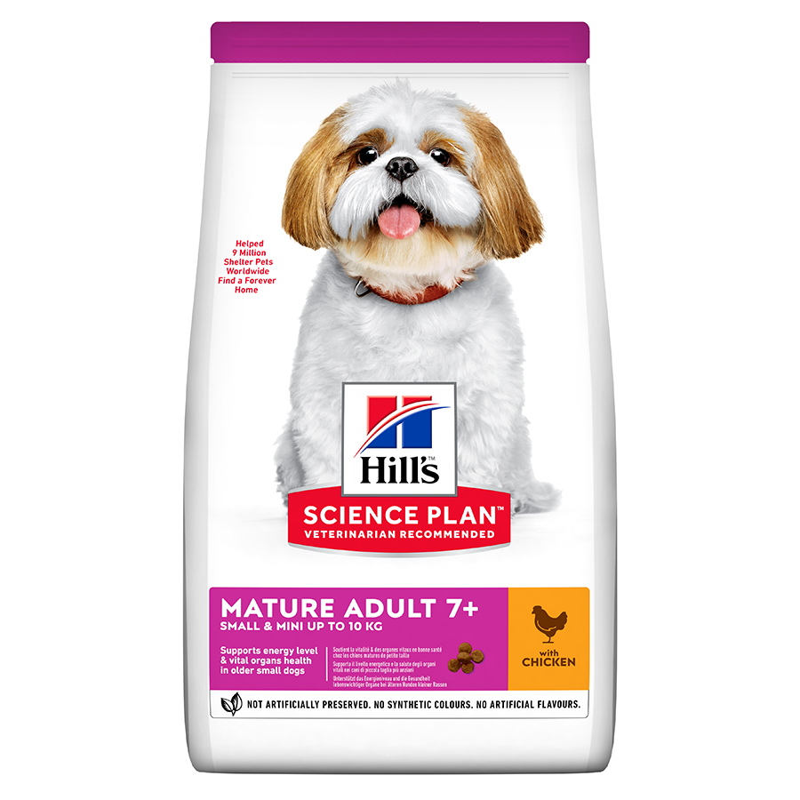Hills Science Plan Mature Adult Small & Mini Chicken Dog Food