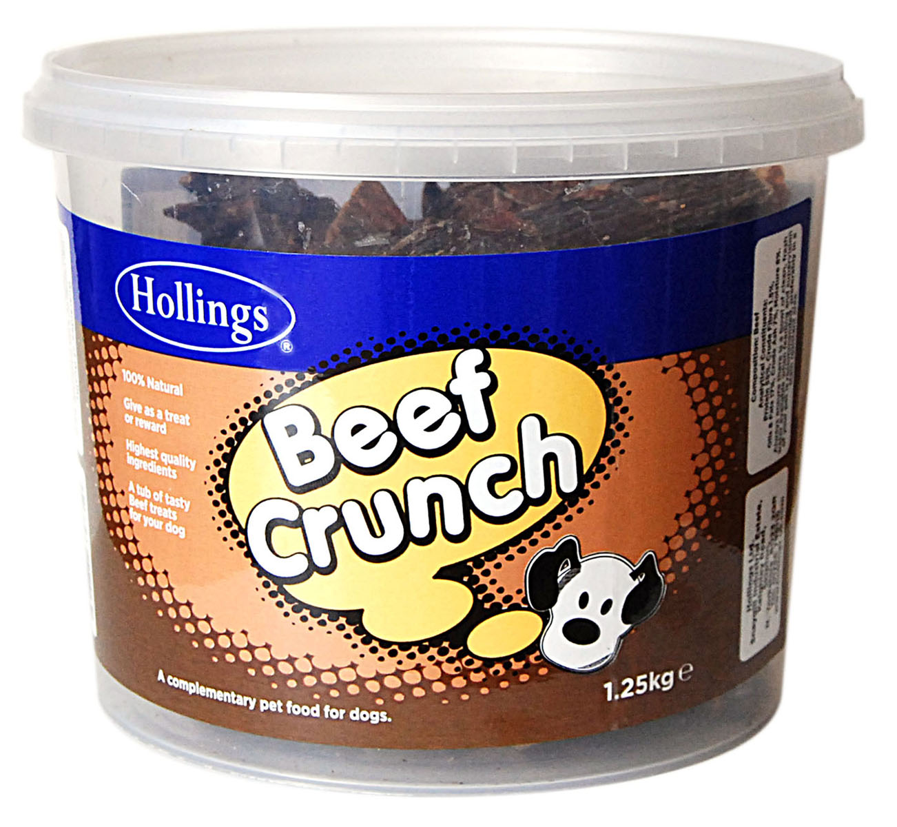 Hollings Beef Crunch Dog Treats