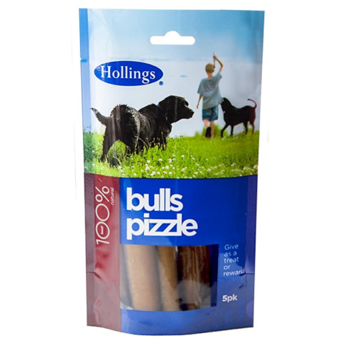 Hollings Bulls Pizzles Dog Treats