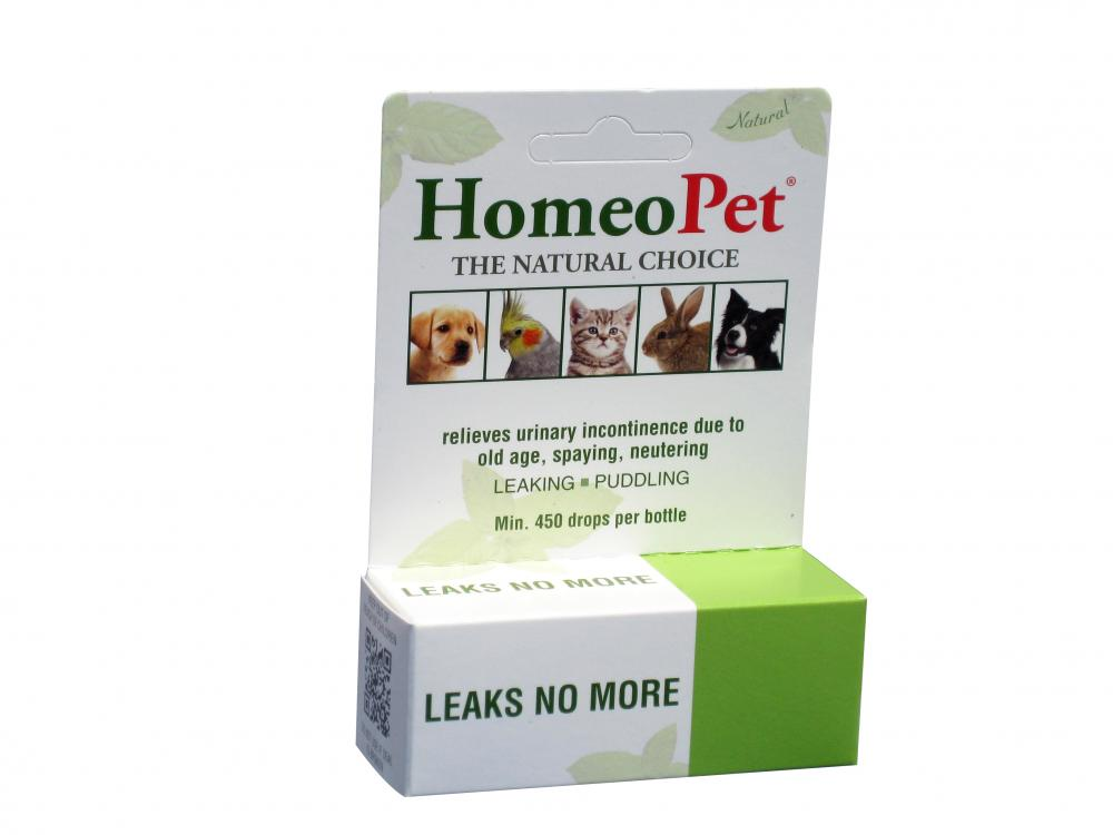 HomeoPet Leaks No More Homeopathic Remedy