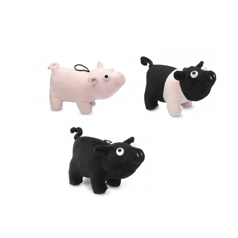 House of Paws 3 Little Pigs Plush Dog Toys