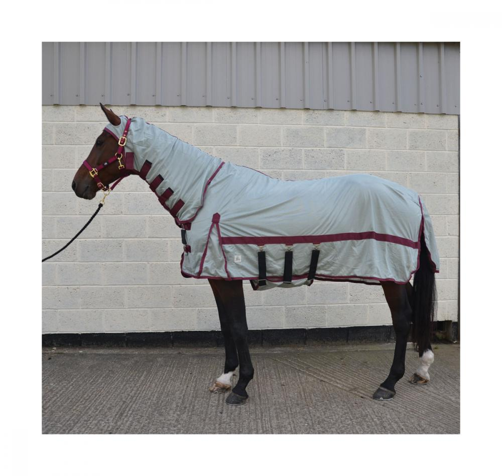 Hy Guardian Fly Rug with face mask