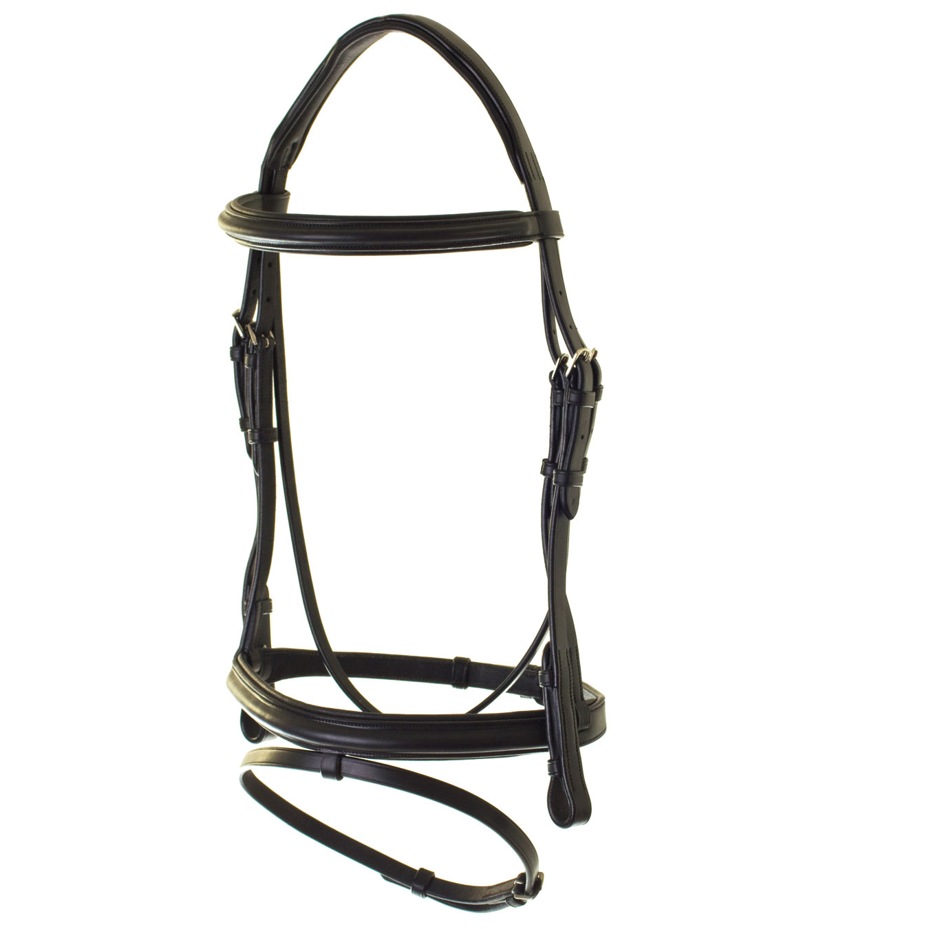 HyCLASS Deluxe Padded Headpiece Flash Bridle