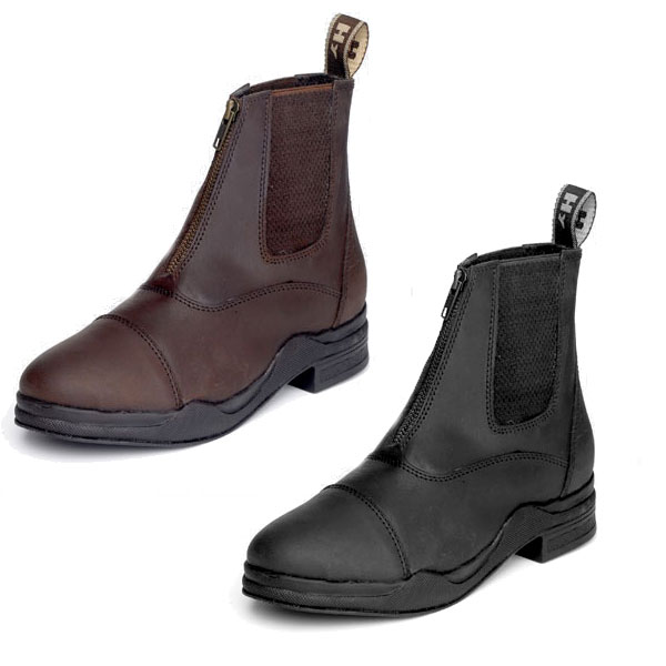 HyFOOTWEAR Wax Leather Zip Boot