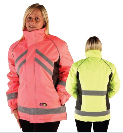 HyVIZ Reflective Waterproof Riding Jacket