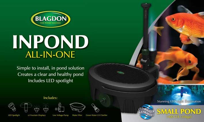 Interpet Blagdon Inpond All In One Pond Pumps