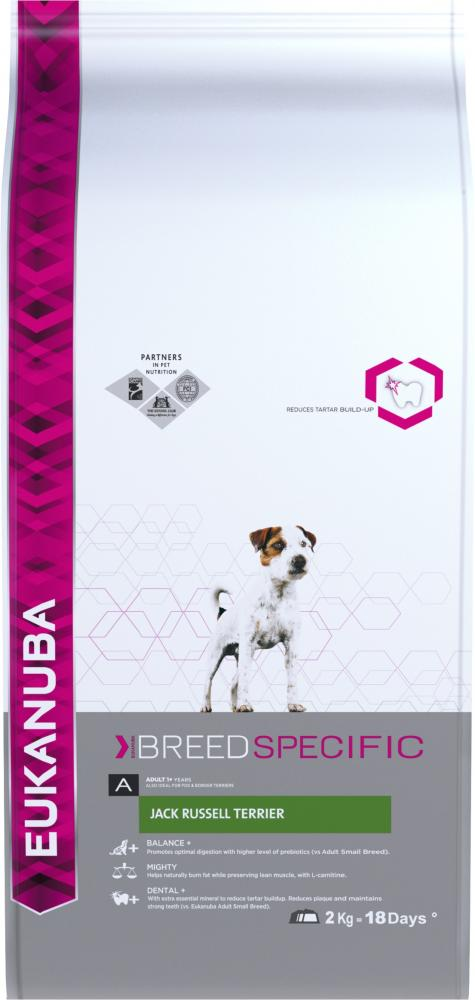 Eukanuba Adult Jack Russell Terrier Chicken Dog Food