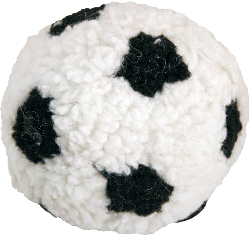James & Steel Berber Football Dog Toy