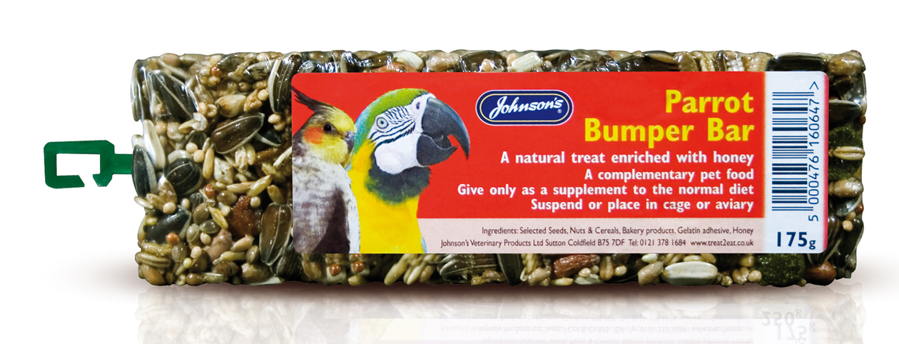 Johnson's Parrot Bumper Bird Treat