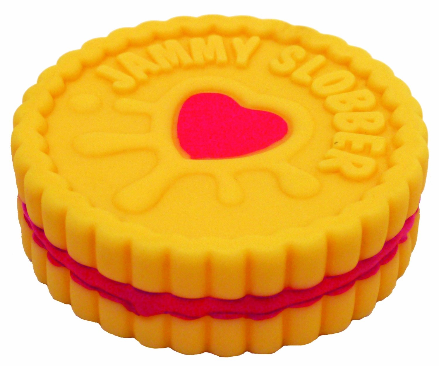 Jolly Doggy Jammy Slobber Biscuit Dog Toy