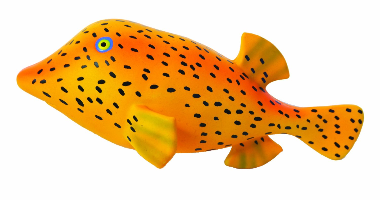 Jolly Doggy Latex Spot Fish Dog Toy