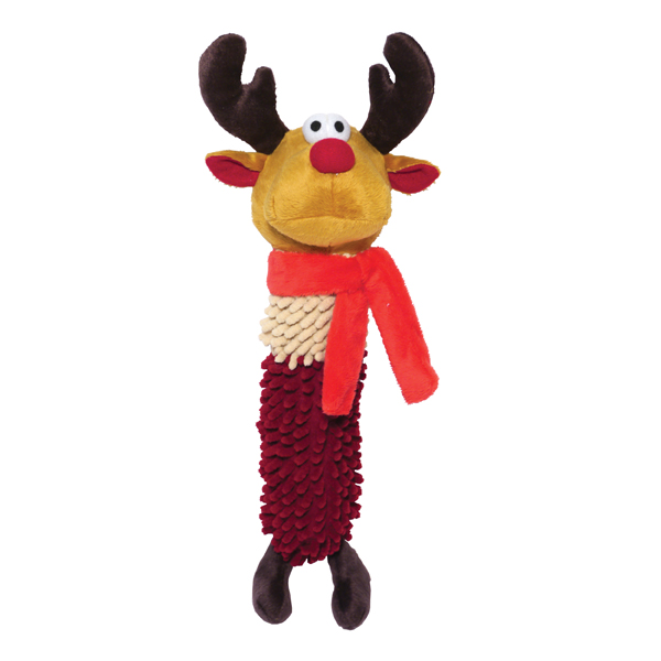 Jolly Doggy Ronald Reindeer Dog Toy