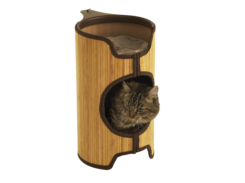 Jolly Moggy Bamboo Cat Tower