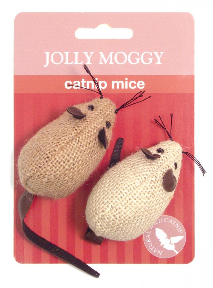 Jolly Moggy Catnip Mice