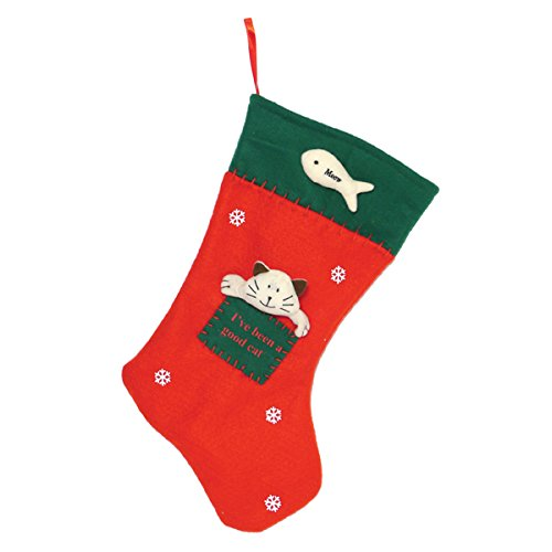 Jolly Moggy Christmas Cat Stocking