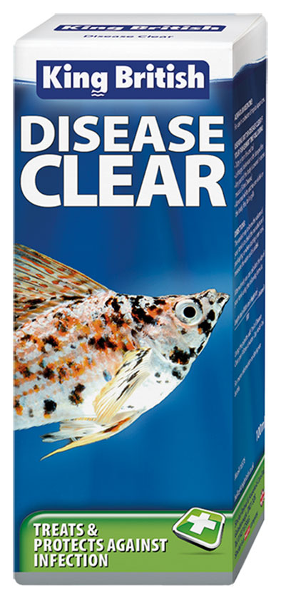 King British Disease Clear Aquarium Treatment