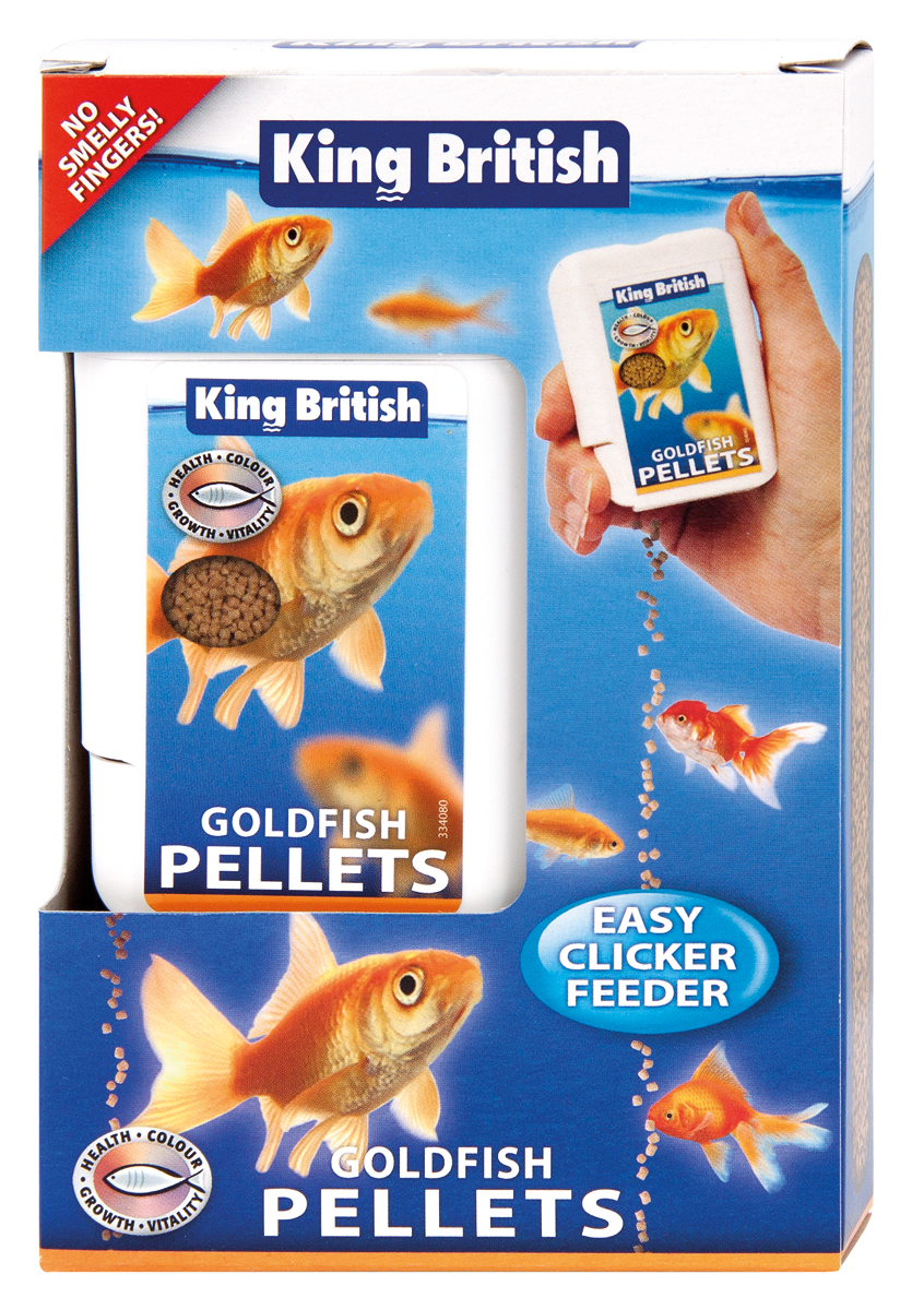 King British Easy Feeder Goldfish Pellets