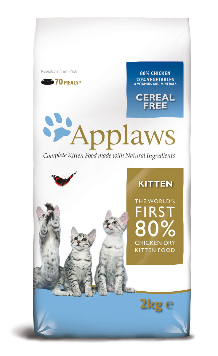 Applaws Natural Chicken Dry Kitten Food
