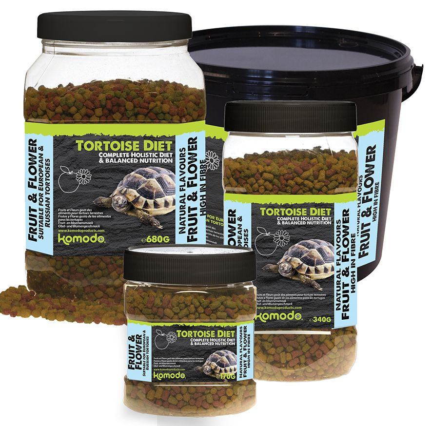 Komodo Tortoise Fruit And Flower Diet