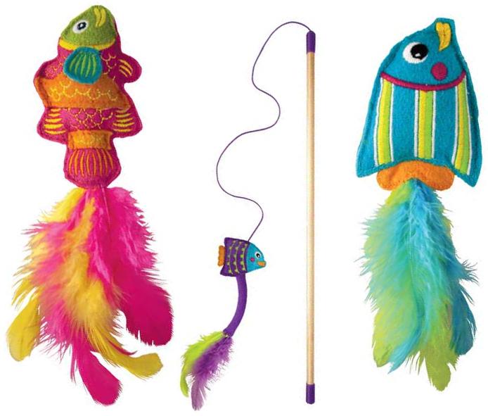 kong tropics fish cat toys. Black Bedroom Furniture Sets. Home Design Ideas
