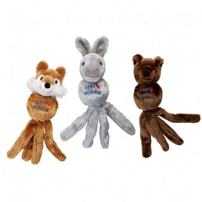 Kong Wubba Friends Dog Toys
