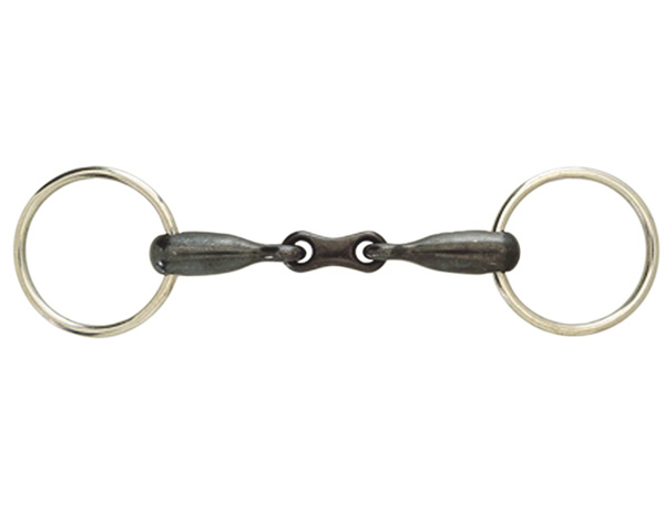 Korsteel JP Sweet Iron French Link Loose Ring Snaffle