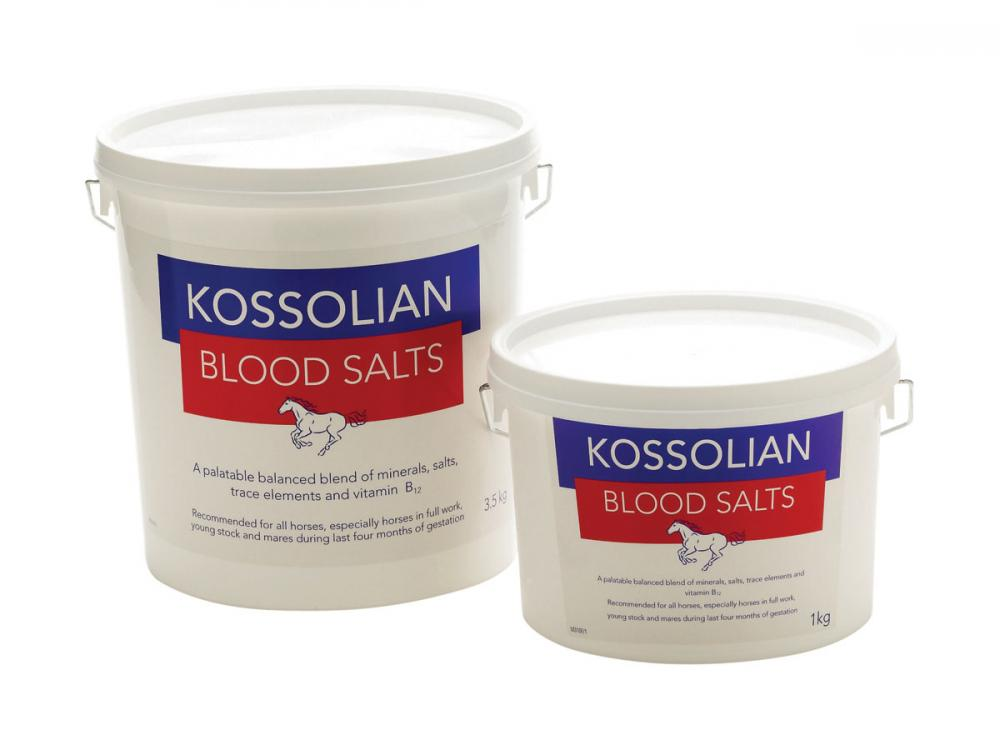 Kossolian Blood Salts for Horses