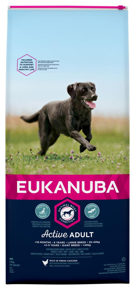 Eukanuba Adult Large Breed Chicken Dog Food