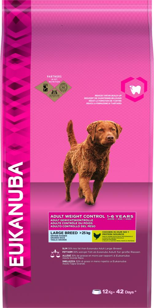 Eukanuba Adult Weight Control Large Breed Light Dog Food