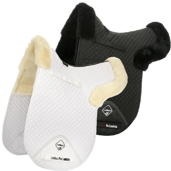 LeMieux Lambskin Dressage Half Lined Numnah Ear Mites In Cats