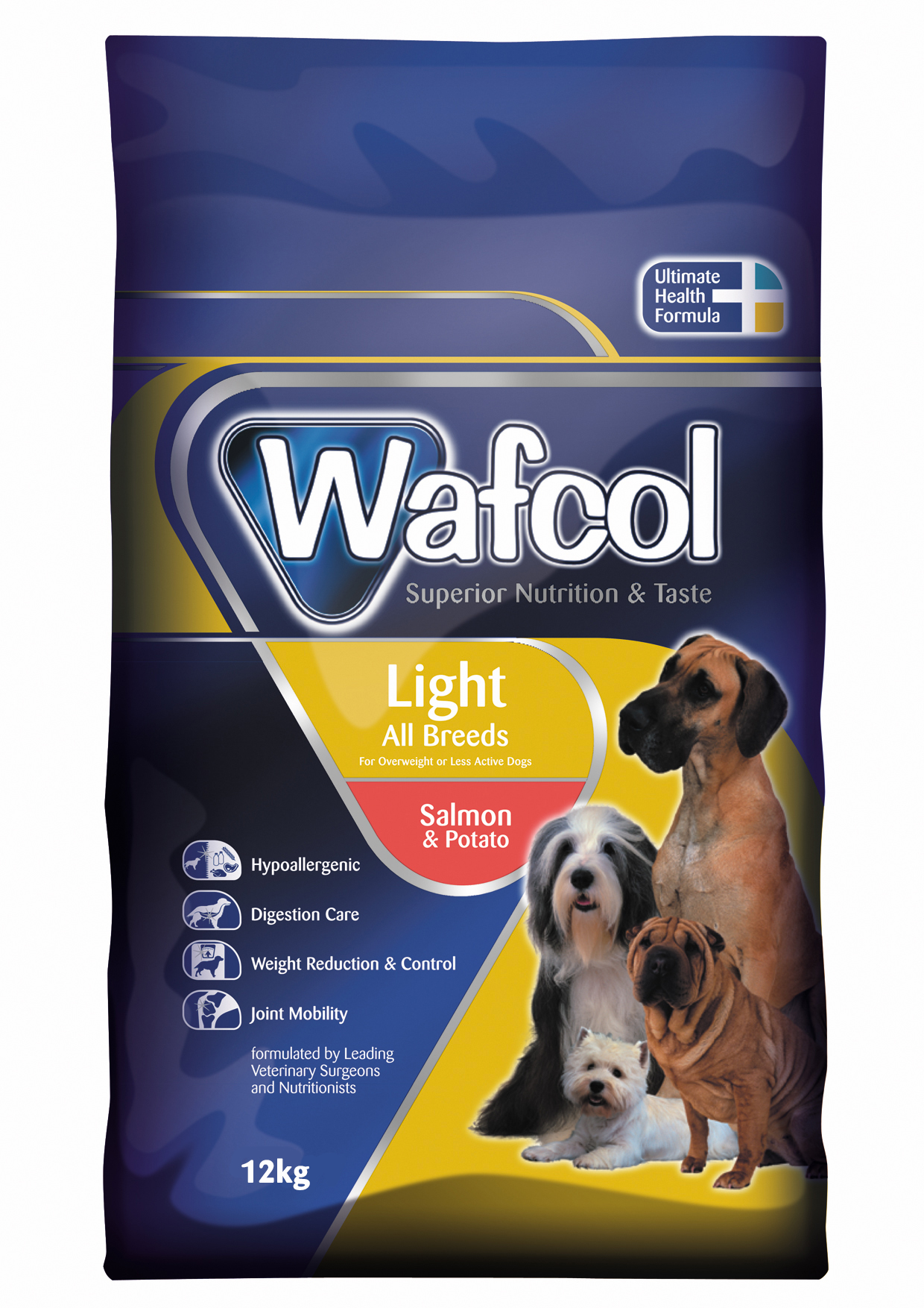 Wafcol Super Premium Light Salmon & Potato Dog Food