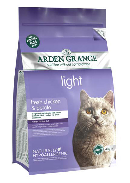 Arden Grange Light Chicken & Potato Grain Free Cat Food