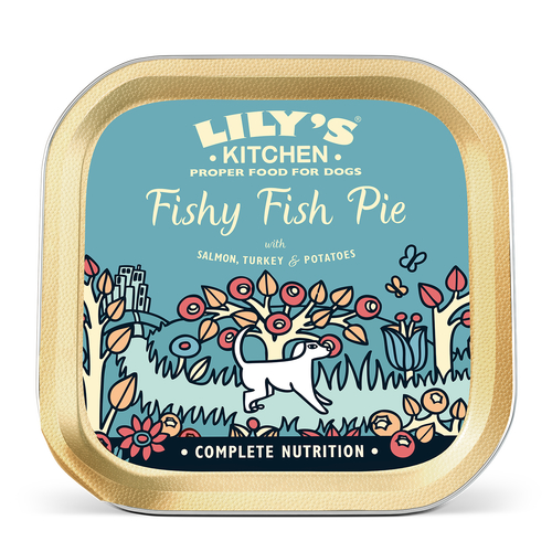 Lily's Kitchen Fishy Fish Pie Dog Food Trays
