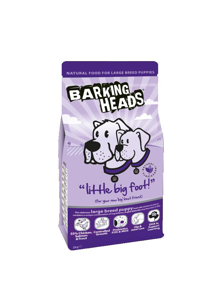 Barking Heads Little Big Foot Dog Food