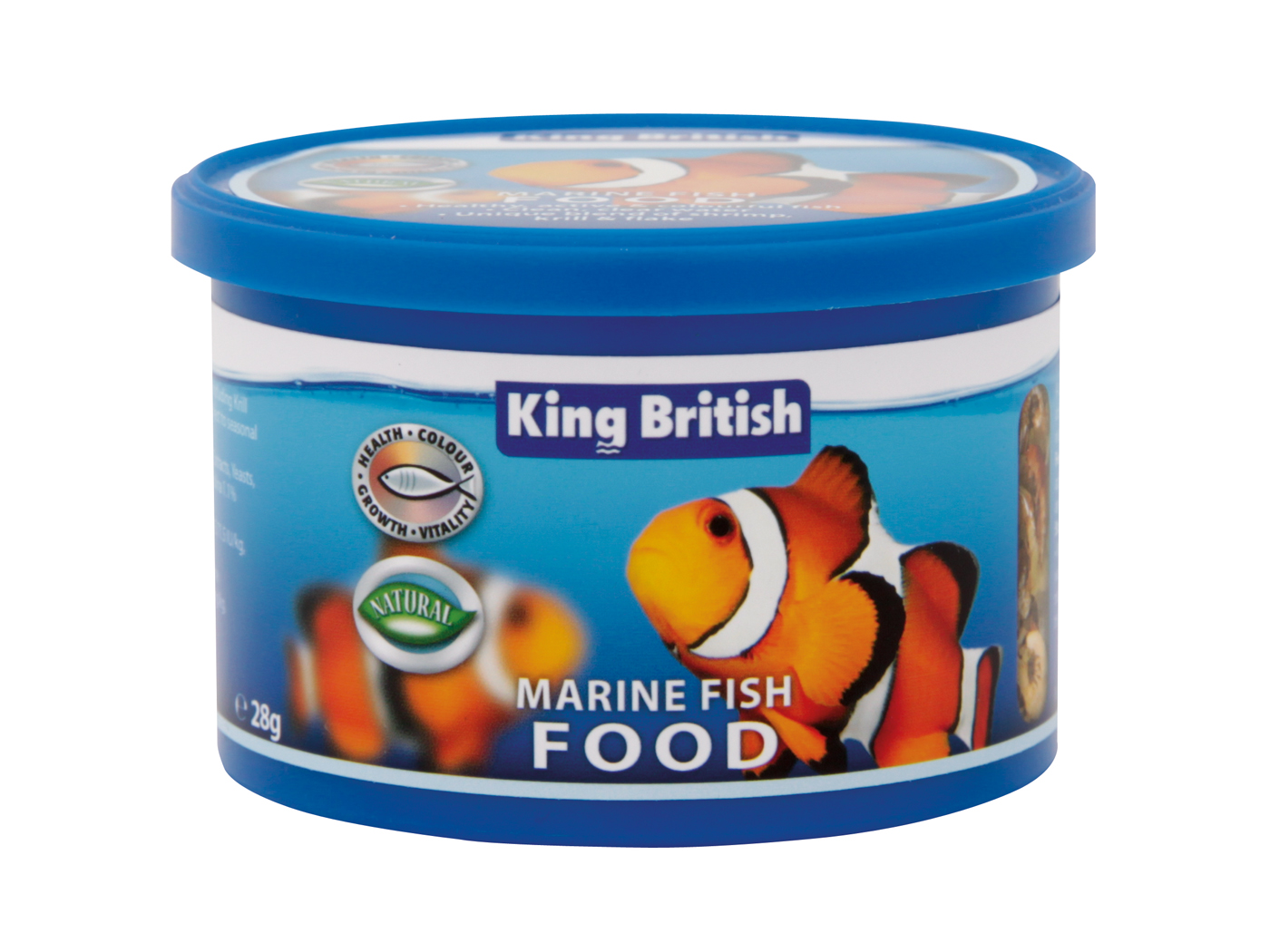 King British Marine Fish Food