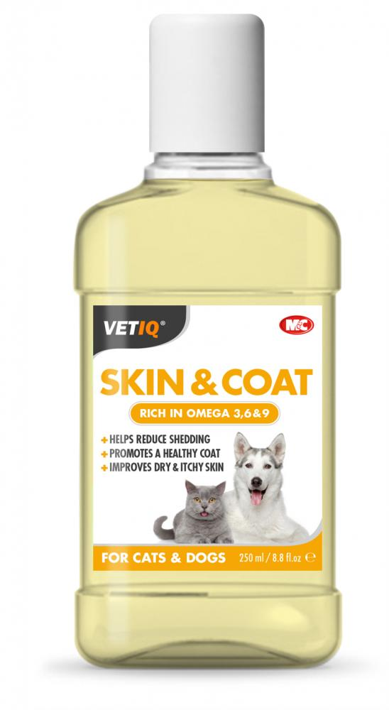 VETIQ Skin & Coat Oil for cats & dogs (formerly Sheen-UM Oil)