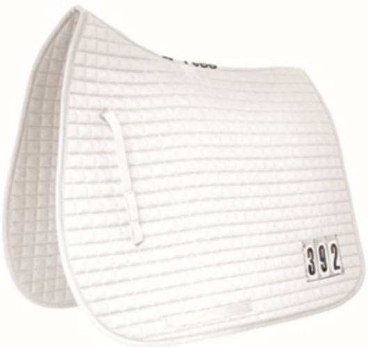 Mark Todd Dressage Pad with Competition Numbers