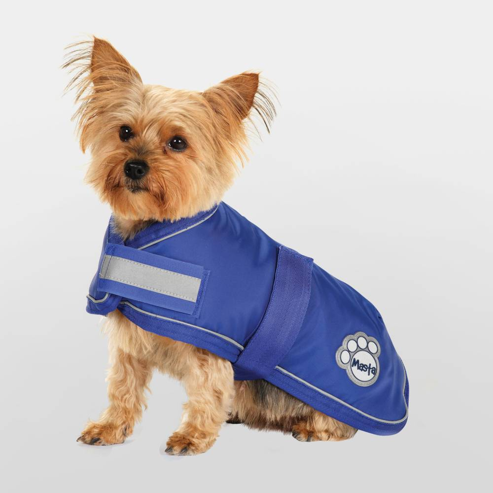 Masta Blue Waterproof Nylon Dog Coat