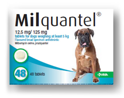 Milquantel Tablets for Dogs & Cats