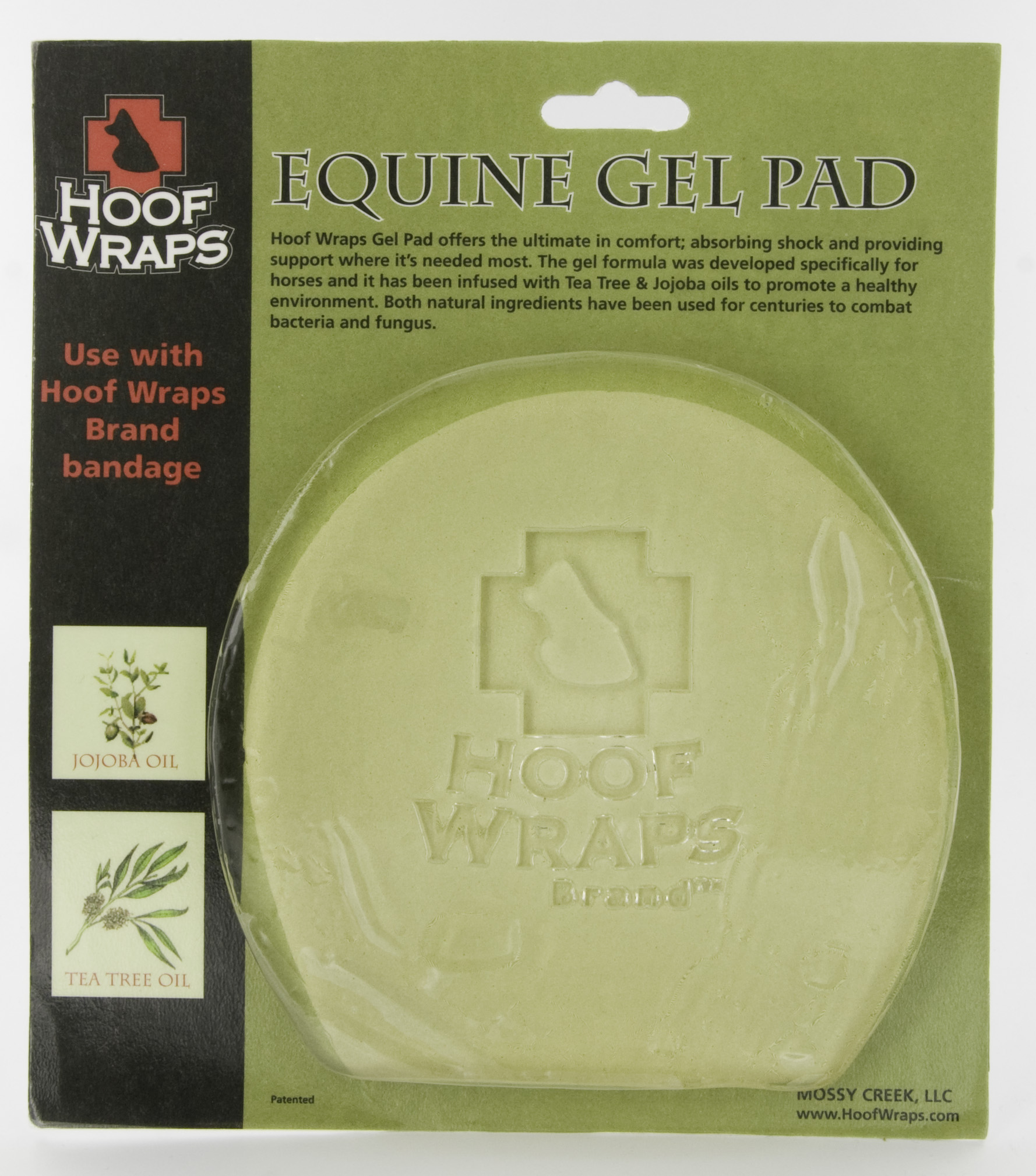 Mossy Creek Hoof Wraps Equine Gel Pad