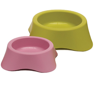 MP Bergamo Nuvola Single Plastic Dog Bowl