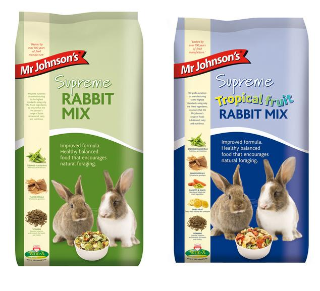 Mr. Johnson Supreme Rabbit Mix
