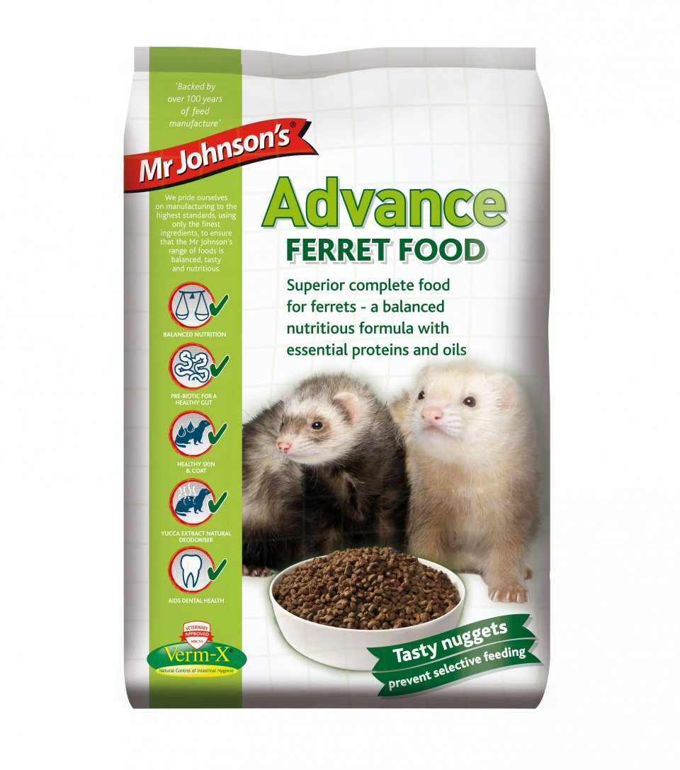 Mr Johnson's Advance Ferret Food