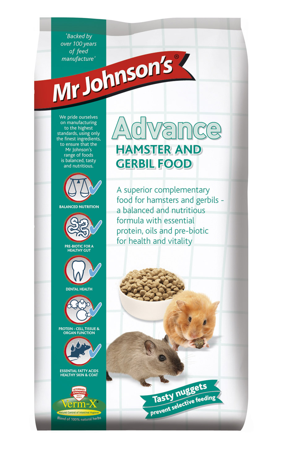 Mr. Johnson's Advance Hamster & Gerbil Food