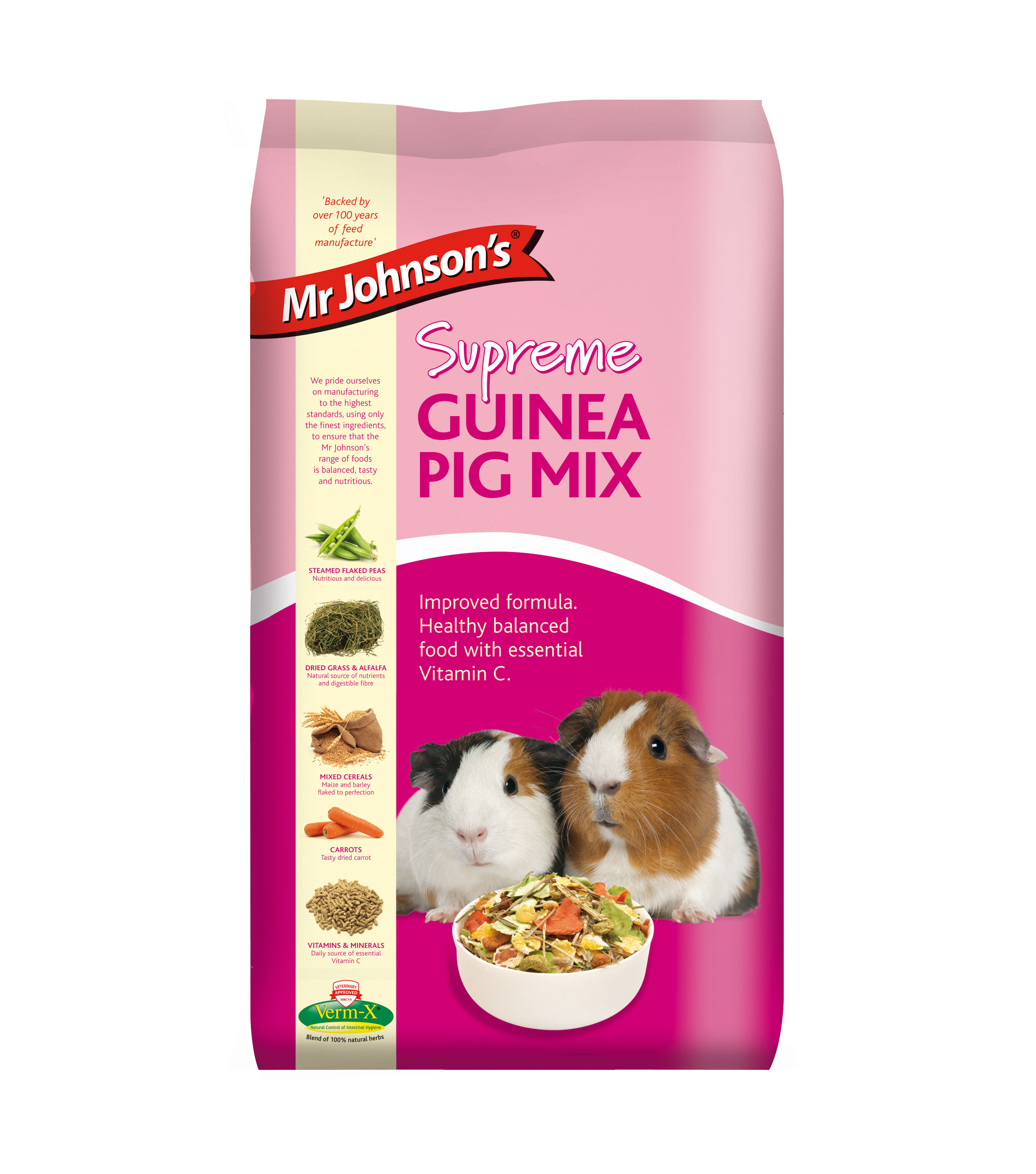 Mr Johnson's Supreme Guinea Pig Mix